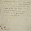 Tilden, Samuel J. - unidentified drafts, 1833 - 1883, nd