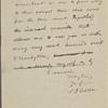 Tilden, Samuel J. - unidentified drafts, undated