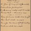 Tilden, Samuel Jones Junior, 1885 - 1886