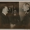 [The Leader and Supreme Commander of the Armed Forces wished Field Marshal von Bock a happy 60th birthday and thanked him also for the services rendered by the officers and men of the German Army.]