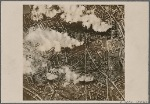 This is how German bombs hit.  Our picture shows countless bomb craters amidst the armaments factories of the city of Coventry after a major attack by the German Air Force.  Other English cities will soon share the fate of Coventry.