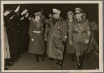 [A welcome foreign guest these days was Italian Justice Minister Grandi, met at the station by General Governor and Reichsminister Dr. Frank.]