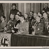 The German government honored the heroes of the war with a solemn state ceremony at the Opera House in Berlin, in the presence of the Führer,]