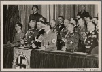 The German government honored the heroes of the war with a solemn state ceremony at the Opera House in Berlin, in the presence of the Führer,