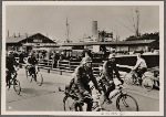 From the harbors the German troops moved into the interior of Norway, where the speed of their advance was such that they met little resistance. Here a bicycle squadron has disembarked in Oslo.