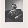 """[Noël Coward in a publicity photograph for his play """"Set to Music.""""]"""