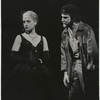Patti Lupone and Mandy Patinkin in the stage production Evita, Broadway Theatre, 1979