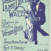 Castle Lame Duck Waltz sheet music cover