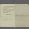 Excerpt from the Journal du Soir, Courier de la Republique Francoise