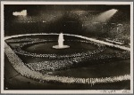 Torchlight parade in the Berlin Olympic Stadium, Summer Solstice Day, June 1938