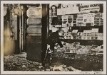 England has begun to experience anxious days because of bomb attacks by the Irish Republican Army.  Our picture shows a shop badly damaged by a bomb.