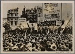 [A large anti-British demonstration in London by Irish patriots demanding separation of Ireland from England.]
