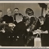 Of the many festivities held by organizations and groups in Germany the week before Christmas, two stood out in this War Christmas of 1939.  In Bochum, Reichs (Labor) Organization Leader Dr. Ley and his wife hosted four hundred deprived mountain children and ...]