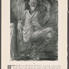 Shaw (G.B.) An original portrait, in charcoal on grey paper, by Feliks Topolski, shewing the famous author and dramatist full length seated. Size 30 1/2 by 22 1/4 inches, in limed oak frame 36 1/2 by 29 inches, glazed. £50, 1940.