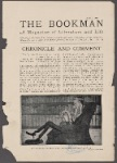 The strenuous literary life--George Bernard Shaw at work. From the London Sketch.