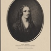 Mary Shelley. Miniature by Reginald Eastman. By permission of the Bodleian Library.