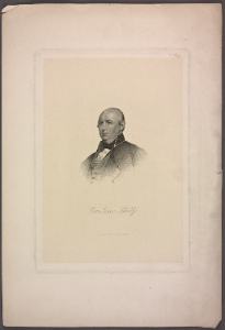 Gov. Isaac Shelby / eng. by H.B. Hall & Sons.