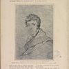 West's pencil sketch of Shelley done from life (hitherto unpublished). From the pencil sketch from life by William E. West. Owned by Mrs. John Dunn.