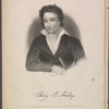 Percy B. Shelley. From an original picture in the possession of Mrs. Shelley