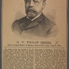 M.W. William Sherer. Elected grand master of Masons, State of New York, June 3, 1891.