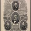 Lincoln. Grant. Sherman. Sheridan.