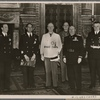 ... Foreign Minister von Ribbentrop conferred for several days in Rome with the Duce and the Italian foreign minister, Count Ciano. These discussions on the shape of a new Europe showed the world the political and de facto agreement between the two friendly powers.]