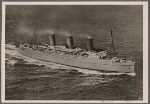 "[A German fighting machine succeeded in setting afire the 42,000-ton great English steamship ""Empress of Britain"", the tenth largest ship in the world.  As it was towed away burning, it took another torpedo shot from a German U-Boat and sank.]"