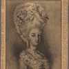 "The girl who spurred Arnold on to treason--a sketch by André. Peggy Shippen in costume for the ""Mischianza,"" which she organized with André, her fellow-conspirator. Courtesy Historical Society of Pennsylvania"