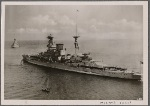 """[The 31,000-ton British battleship """"Barham"""" is reported lost by the British admiralty.  This is the warship that had been torpedoed in the Mediterranean on 11/26/41 by a German U-Boat under the command of Captain Lieutenant Baron von Tiesenhausen.]"""