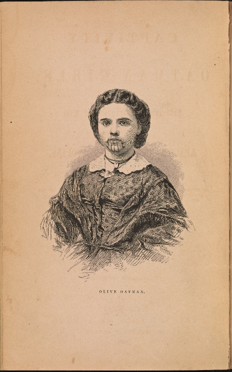 Olive Oatman, photo from NYC Library