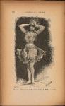 Danseuse parée de fleurs lumineuses (Ballet des fleurs)