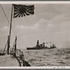 In the Java Sea, a group of Japanese warships met the combined Dutch-British-American fleet, which had come out to try to stop the Japanese landing in Java at any price.  In a bitter, days-long gun battle the Japanese sank 5 enemy cruisers and 6 destroyers.  Thus was sealed the fate of Java.]