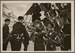 In the Old Town Square in Prague an hour of commemoration was held by the Hitler Youth in the Protectorate.  Reich Youth Leader Axmann consecrated the flags of the German young people.