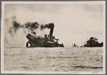 Freighter by freighter, enemy merchant tonnage is being torpedoed by our U-boats and lost to the enemy.  Altogether, 585, 000 BRT (Brutto Register Tonnage) of enemy merchant ships have been sunk in April, of which 76 ships of 538,000 BRT were sunk by U-boats.