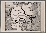 This is how the warmongers would divide Germany.  This map is from a document found in Paris, showing one of the Franco-English war aims disclosed to American Secretary of State Sumner Welles by French Minister-President Reynaud.