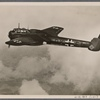 England was the target of uninterrupted attacks by the German Air Force.  The targets of armed reconnaissance planes are English harbors, airfields, arms factories, etc.; this Do. 215 warplane has also proven itself as a bomber and in deep-penetration raids.]