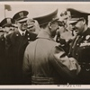 At the invitation of Reichs Propaganda Minister Dr. Goebbels, Italian Minister of Popular Culture Allessandro (sic) Pavolini met with him in Berlin.]