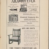 A. H. Abbot & Co., Central Camera Co., and The Tobey Furniture Co. advertisements.]