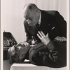 Publicity photo of Boris Karloff and Erich von Stroheim for Arsenic and Old Lace