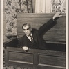 Boris Karloff in a scene from Arsenic and Old Lace