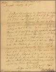Letter to Robert Hunter Morris, Governor of Pennsylvania