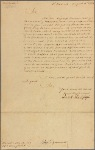 Letter to Horatio Sharpe, Deputy Governor of Maryland