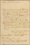 Letter to George Thomas, Lieutenant-Governor and Commander-in-Chief of the Province of Pennsylvania