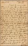 Letter to William Denny, Governor of Pennsylvania, Philadelphia