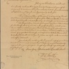 Letter to Rev. Stephen Williams, Springfield
