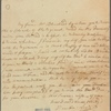 Letter to Gen. [Sir William] Johnson