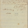 Letter to William Samuel Johnson, London