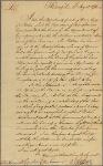 Letter to Hon. Cadwallader Colden