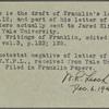 Letter to Rev. Jared Eliot