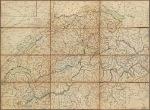 H. Keller's Reisecharte der Schweiz.